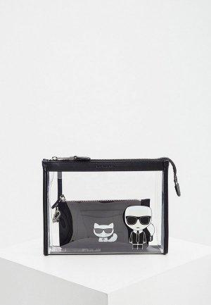 Комплект Karl Lagerfeld IKONIK. Цвет: черный