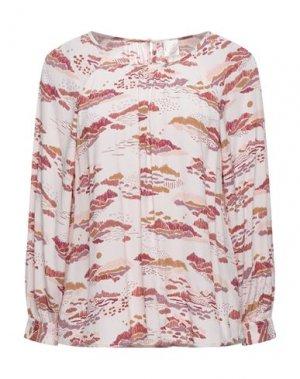 Блузка DES PETITS HAUTS. Цвет: розовый