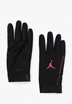 Перчатки вратарские Jordan PSG ACDMY HPRWRM-JORDAN. Цвет: черный