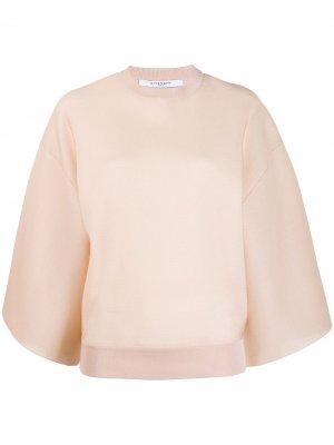 Джемпер с широкими рукавами Givenchy. Цвет: нейтральные цвета