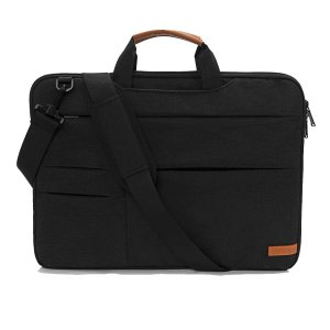 Мужской портфель SHEIN. Цвет: чёрный