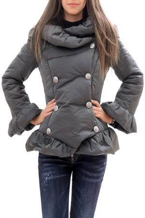 Куртка RADEKS. Цвет: серый