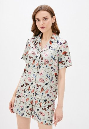 Пижама Argent. Цвет: зеленый