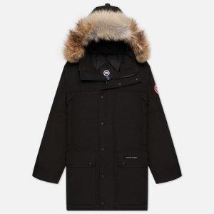 Мужская куртка парка Emory Canada Goose. Цвет: чёрный
