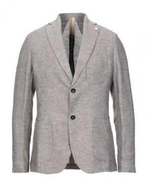 Пиджак GAZZARRINI. Цвет: коричневый