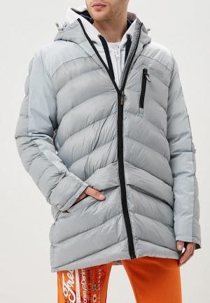 Куртка утепленная Geographical Norway DOUDOU. Цвет: серый