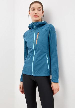 Толстовка Under Armour UA CGR Exert Jacket. Цвет: голубой