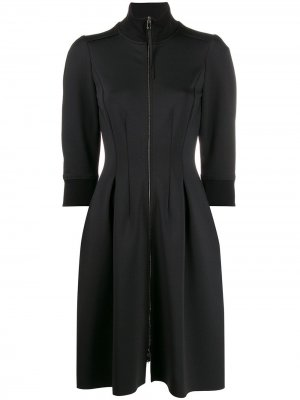 Спортивное платье на молнии Dorothee Schumacher. Цвет: черный