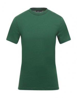 Футболка J. LINDEBERG. Цвет: зеленый