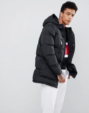 Черная дутая куртка -Черный Criminal Damage