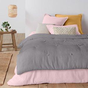 Одеяло LaRedoute. Цвет: серый