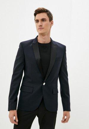 Пиджак Balmain. Цвет: синий