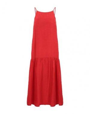 Платье миди CARACTÈRE. Цвет: красный