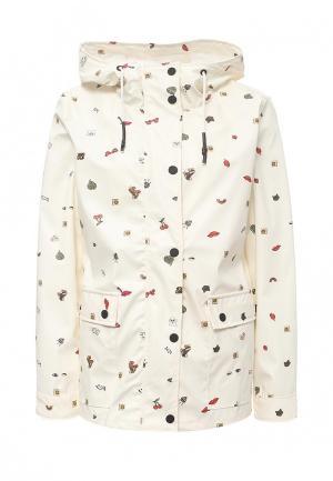 Куртка Only. Цвет: бежевый