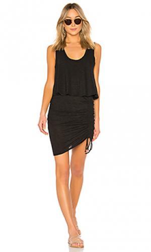 Платье Lanston. Цвет: черный