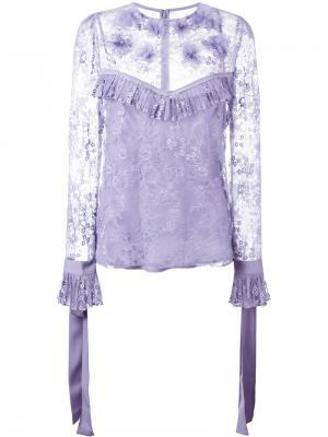 Кружевная блузка Elie Saab