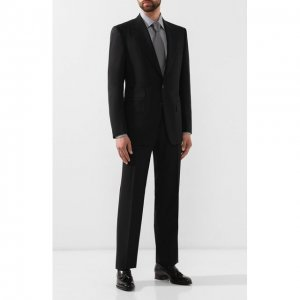 Шерстяной костюм Tom Ford. Цвет: чёрный