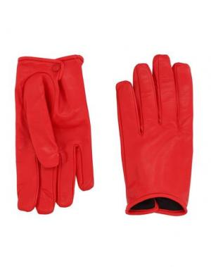 Перчатки VALENTINO GARAVANI. Цвет: красный