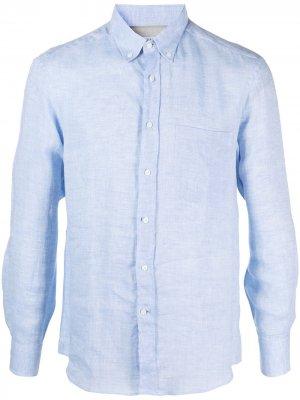 Рубашка с длинными рукавами Brunello Cucinelli. Цвет: синий