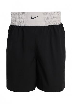 Шорты спортивные Nike BOXING SHORT. Цвет: черный