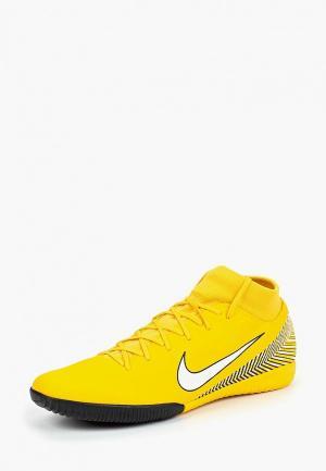 Бутсы зальные Nike Neymar SuperflyX 6 Academy IC Indoor/Court Football Boot. Цвет: желтый