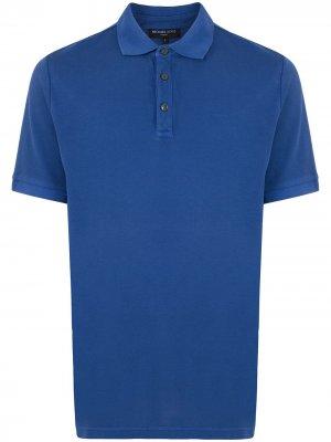 Рубашка поло с короткими рукавами Michael Kors. Цвет: синий