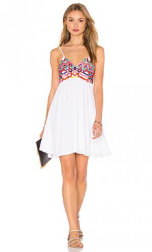 Платье michelle PILYQ. Цвет: белый