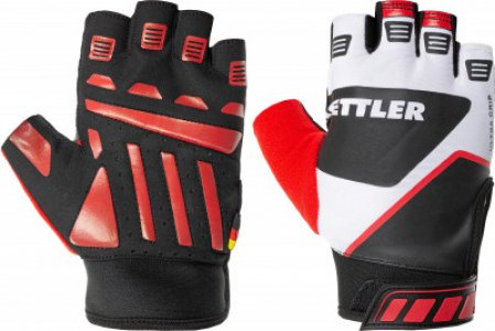 Перчатки для фитнеса , размер 9 Kettler. Цвет: красный