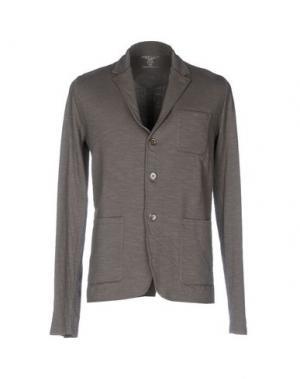 Пиджак MAJESTIC FILATURES. Цвет: свинцово-серый