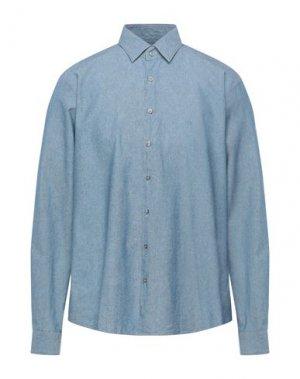 Джинсовая рубашка CALVIN KLEIN. Цвет: синий