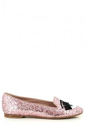 Балетки CHIARA FERRAGNI. Цвет: розовый