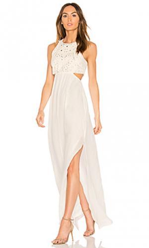 Платье valletta Ella Moss. Цвет: ivory