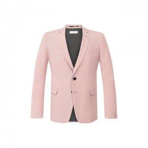 Пиджак Dries Van Noten. Цвет: розовый