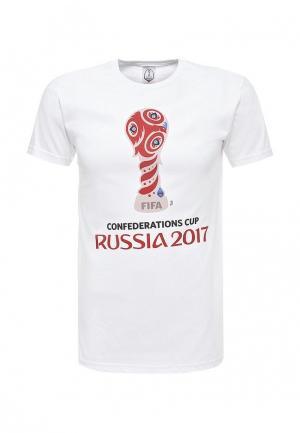 Футболка FIFA Confederations Cup Russia 2017. Цвет: белый