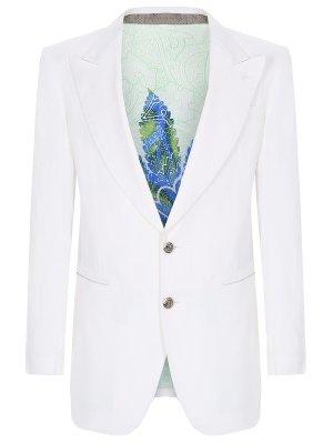 Пиджак льняной ETRO