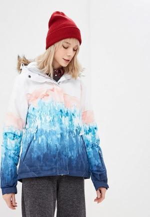 Куртка горнолыжная Roxy JET SKI SE. Цвет: разноцветный