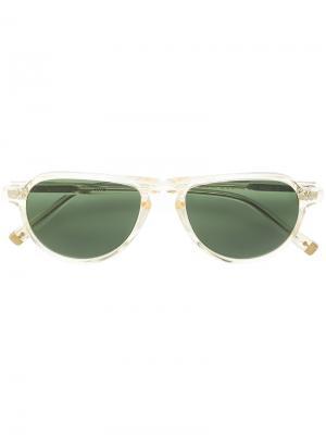 Солнцезащитные очки Jasper Moscot. Цвет: телесный