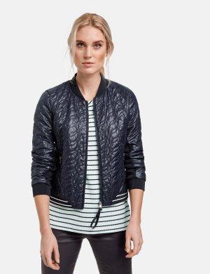 Спортивная стеганая куртка TAIFUN Gerry Weber. Цвет: indigo