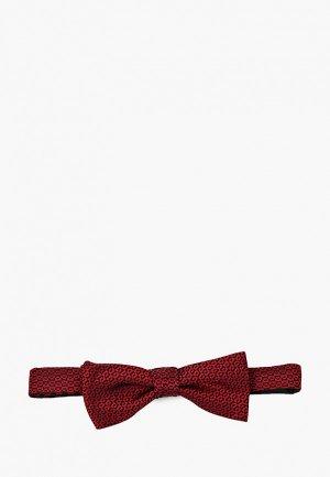 Бабочка Hugo Bow tie fashion. Цвет: красный