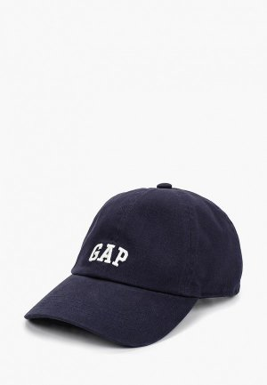 Бейсболка Gap. Цвет: синий