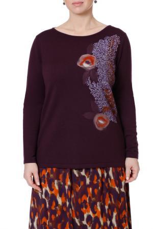 Пуловер LE FATE. Цвет: сливовый