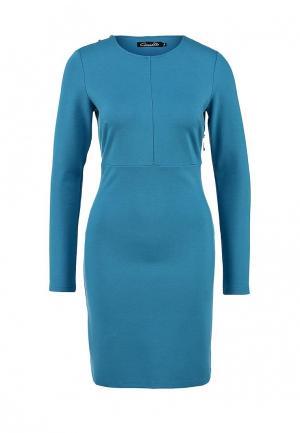 Платье Conver. Цвет: голубой