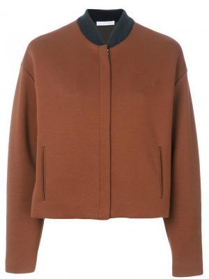 Повседневная куртка Fabiana Filippi. Цвет: коричневый