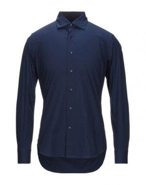 Pубашка HENDERSON. Цвет: темно-синий