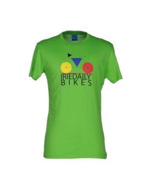 Футболка IRIEDAILY. Цвет: зеленый
