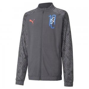 Детская олимпийка Neymar Jr Futebol Training Youth Jacket PUMA. Цвет: черный