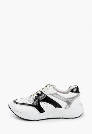 Кроссовки Caprice увеличенная полнота H, Comfort. Цвет: белый