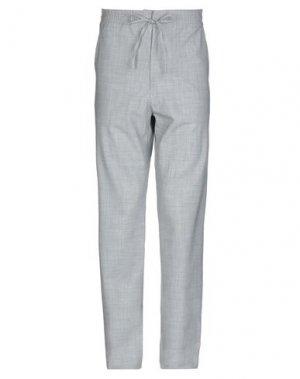 Повседневные брюки BAND OF OUTSIDERS. Цвет: светло-серый