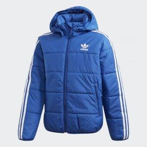 Утепленная куртка Originals adidas. Цвет: белый