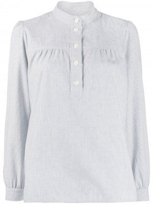 Рубашка Loula в полоску A.P.C.. Цвет: синий